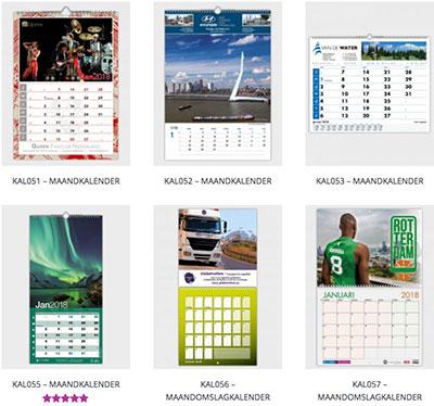 maandkalender 2018